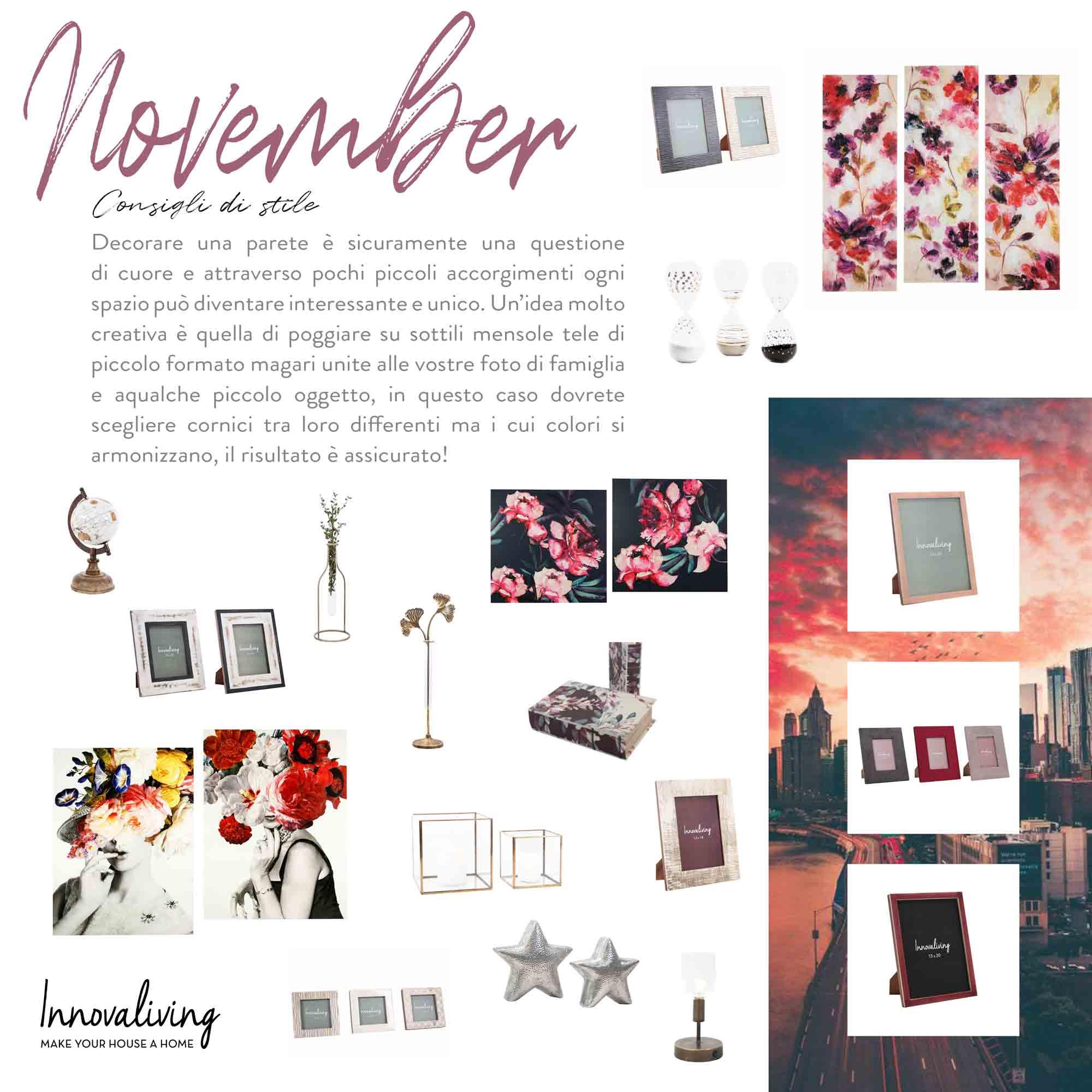 Novembre - Consigli di Stile
