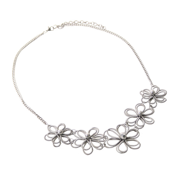 Necklace Daisy Silver