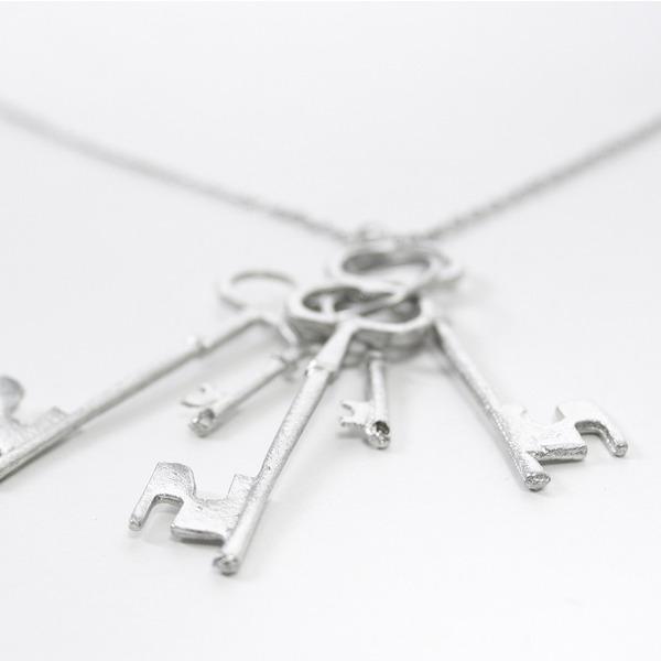 Collana Keys Silver