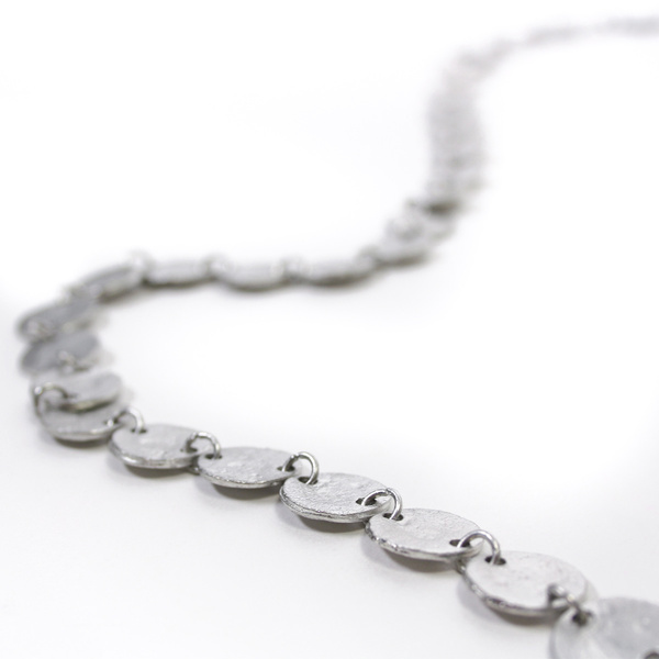 Multicircle Silver necklace