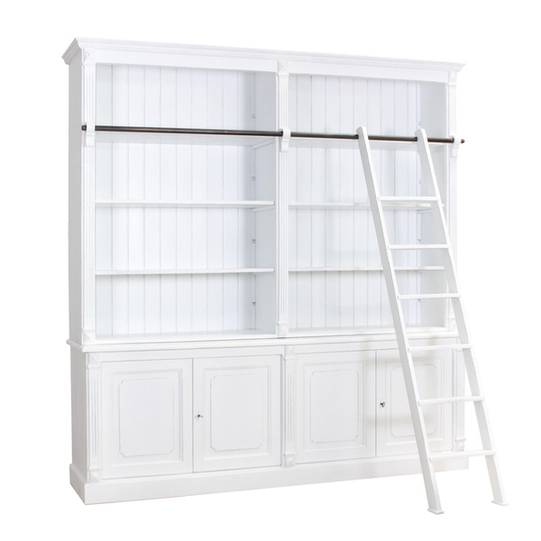 Libreria English Smoke White