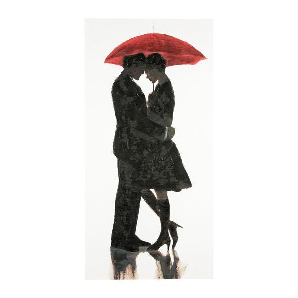 Quadro Red Umbrella