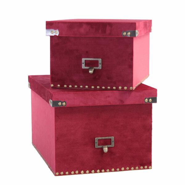 Scatole Scarlet Soft - Set 2