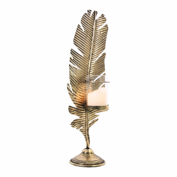 Candle Holder Dandy Leaf