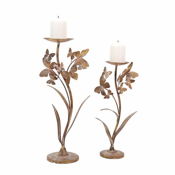 Butterfly Candleholder - Set 2