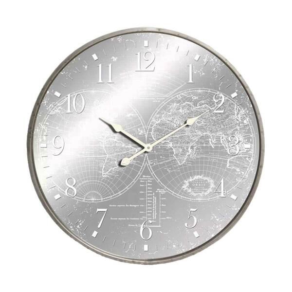 Orologio World Mirror Silver