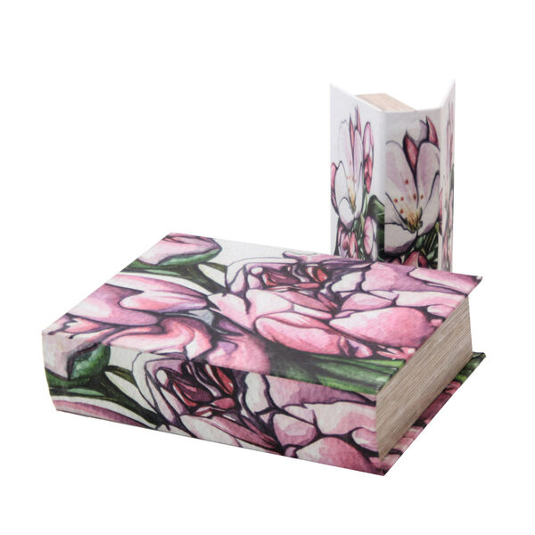 Scatole Libro Blooming - Set 2