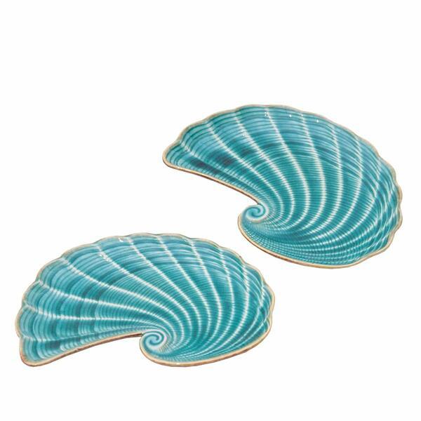 Seashell Plates Fish- Set 2