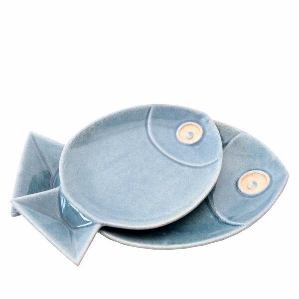 Pacific Fish Plates - Set 2