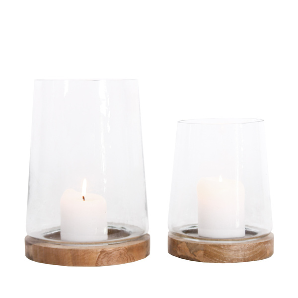 Candle Holder Wood Mood - Set 2