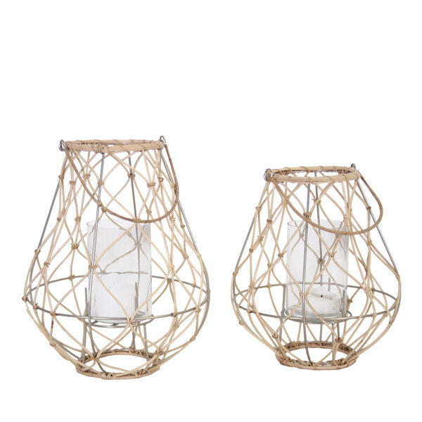 Lanterne Easy Rattan - Set 2
