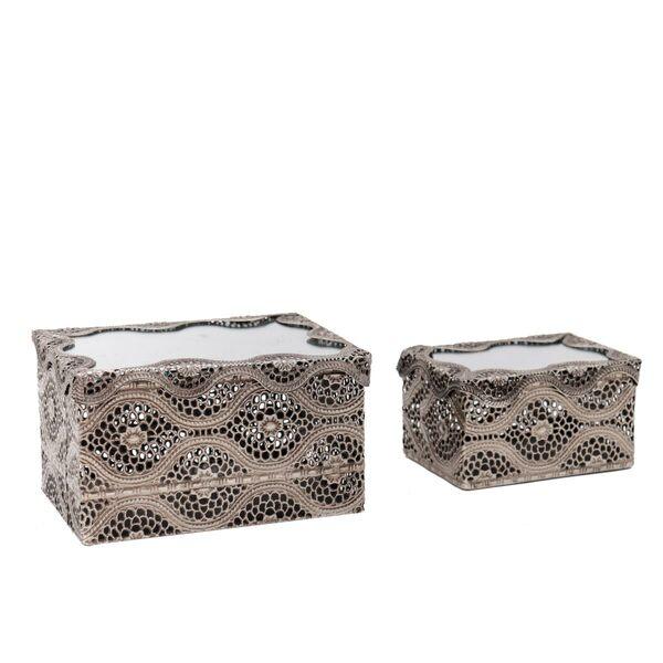 Arabesque Mirror Boxes - Set 2