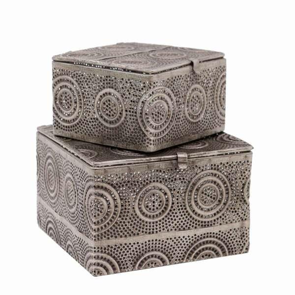 Arabesque Square Boxes - Set 2
