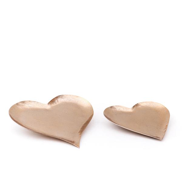 Trays Aurora Hearts Gold - Set 2