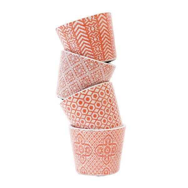 Orange Vases - Set 4