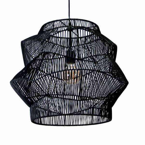 Organic black Pendant Lamp - L