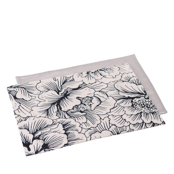 Placemat Blossom Black