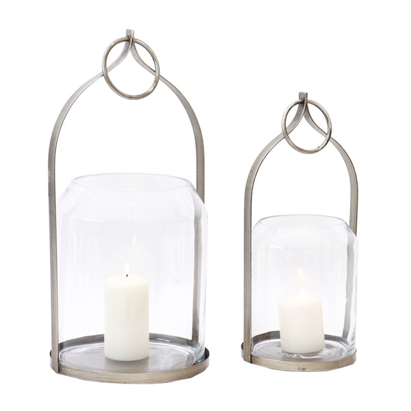 Pure Round Candle Holder - Set 2