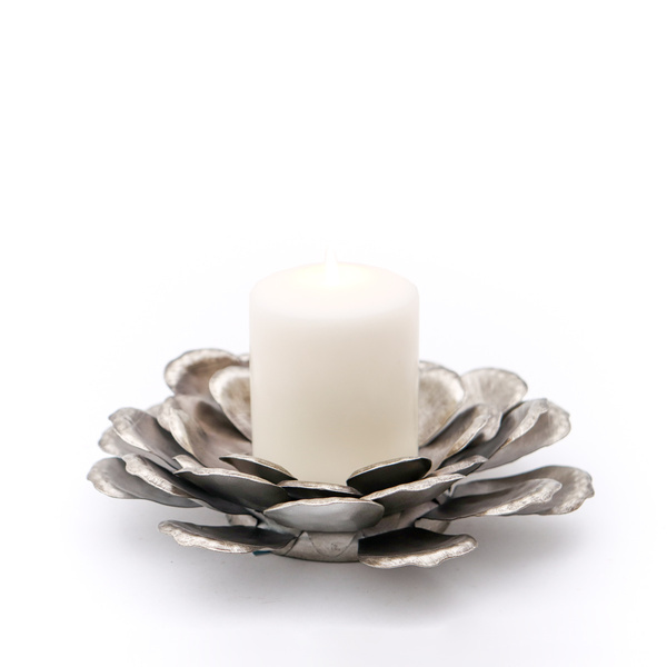 Blooming Champagne Candle Holder