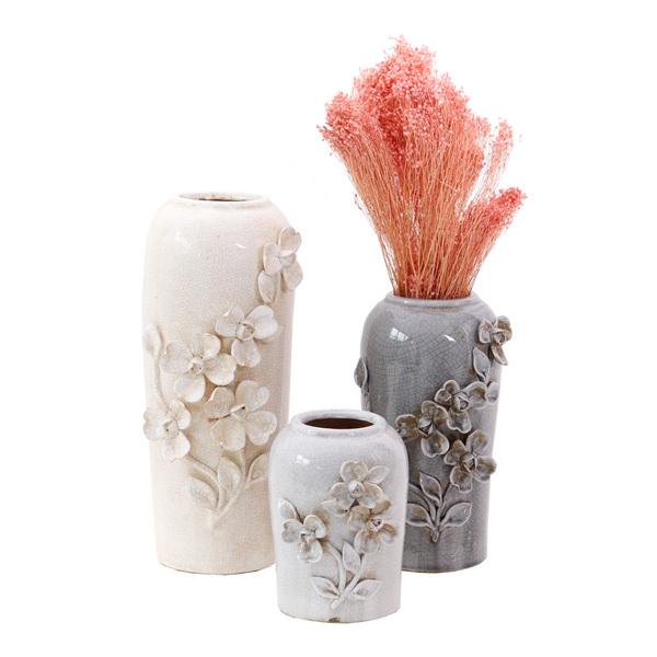 Artefiore Grey Vases - Set 3