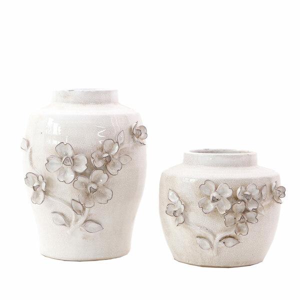 Vases Artefiore White - Set 2