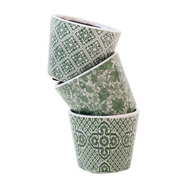 Green Vases - Set 3