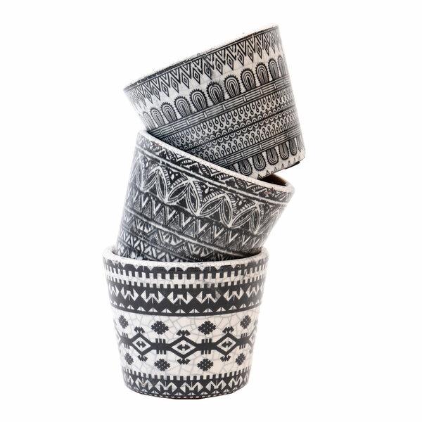 Deco Black Vases - Set 3