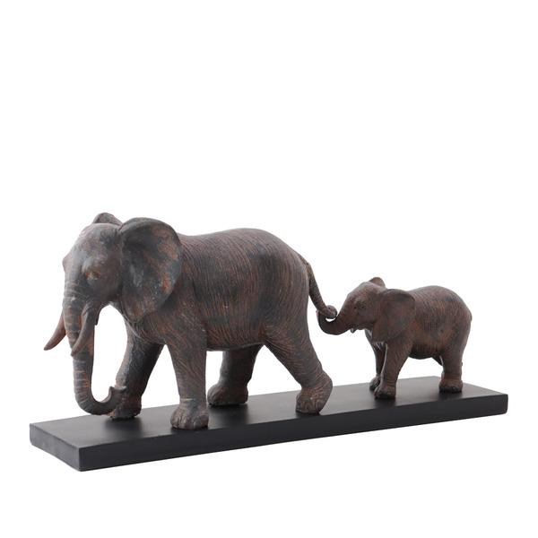 Elephant Family Decoration