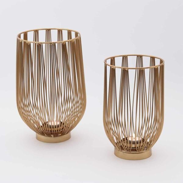 Fili D'Oro Candle Holder - Set 2