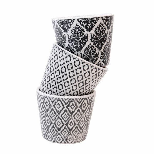 Vases in black and white - Set 3