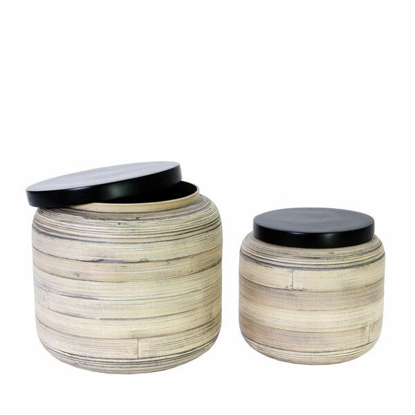 Barattoli Easy Bamboo - Set 2