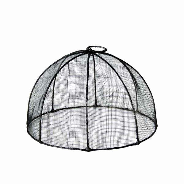 Anthracite Round Food Cover - S