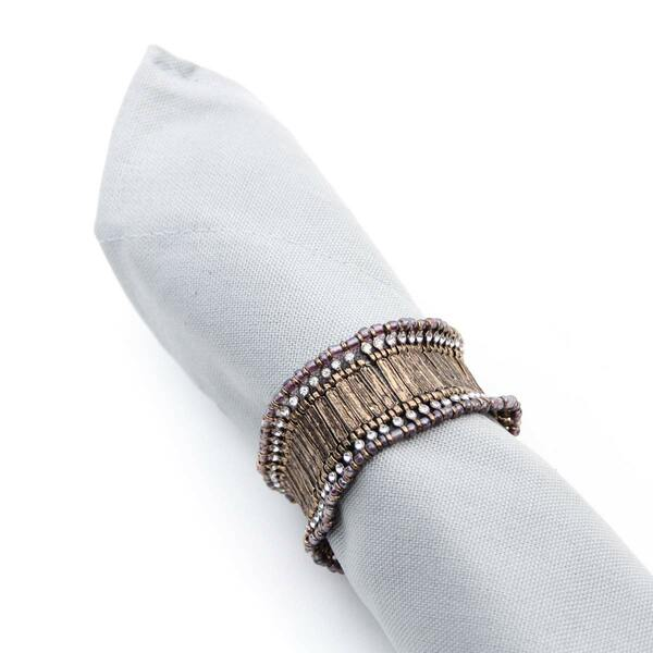 Tricot Gold Napkin Ring