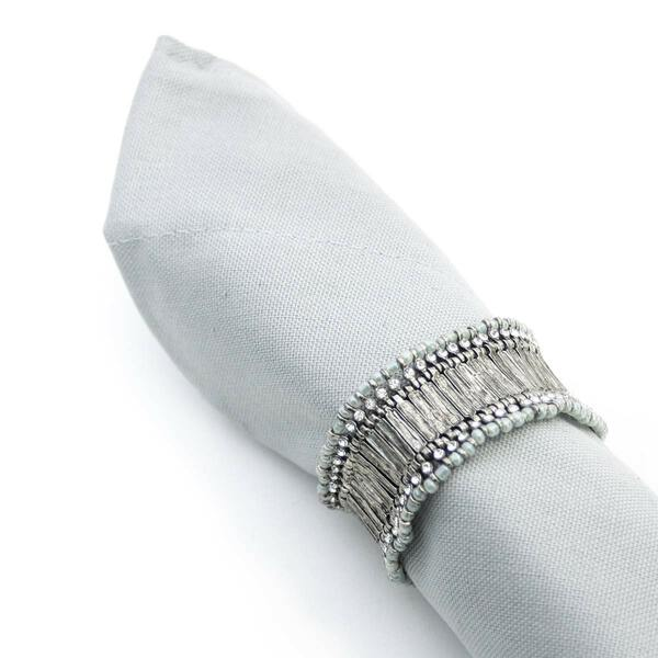 Tricot Silver Napkin Ring