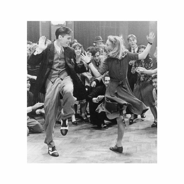 Quadro Vetro Dancers