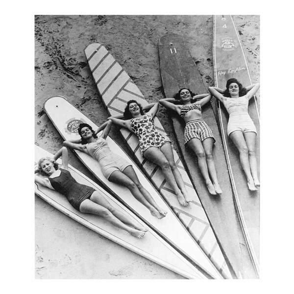 Quadro Vetro Surf